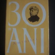 ARISTIZZA ROMANESCU - 30 DE ANI AMINTIRI - Biografie