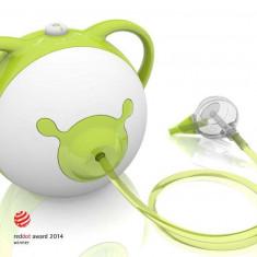 Nosiboo - Aspirator nazal electric green - Aspirator nazal copii