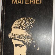 INTELIGENTA MATERIEI 346PAGINI= DUMITRU CONSTANTIN - Carte Filosofie