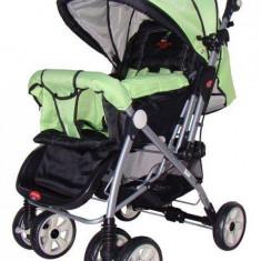 Pierre Cardin PS314 GREEN - carucior sport cu maner reversibil - Carucior copii Sport