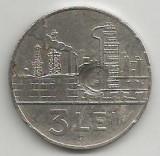 ROMANIA  RPR   3  LEI   1963   [8]    livrare in cartonas, Fier