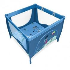 Baby Design Play UP 03 blue 2016 - Tarc de joaca cu inele ajutatoare