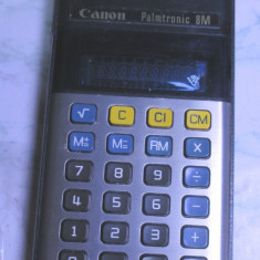 Un lot de 3 calculator vechi canon sharp ani 70 de colectie - Calculator Birou