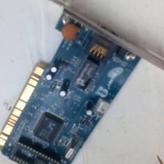 Doua surse PC de 230V și o placă de rețea. Delux
