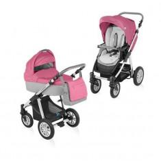 Baby Design Dotty 08 pink 2015 - Carucior 2 in 1 - Carucior copii 2 in 1
