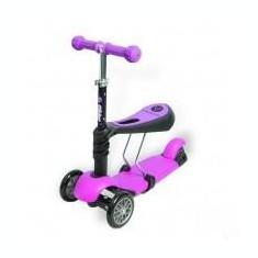 Ybike Yvolution Glider 3in1 pink 2014 - roller - Bicicleta copii