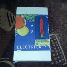 BECURI POM DE IARNA, ROMANESTI ANUL 1956, RARITATI !!! - Instalatie electrica Craciun