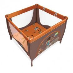 Baby Design Play UP 01 orange 2016 - Tarc de joaca cu inele ajutatoare
