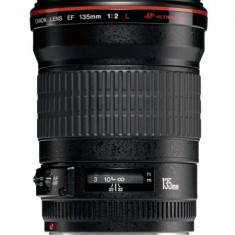 Obiectiv Canon EF 135mm f/2, 0L USM - Obiectiv DSLR Canon, Macro (1:1), Canon - EF/EF-S