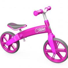 Ybike Yvolution YVelo motoras pentru copii pink - Bicicleta copii