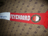 Fular al suporterilor Echipei Feyenoord Rotterdam ,sponsor Meijburg , 158cm