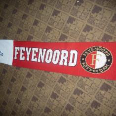 Fular al suporterilor Echipei Feyenoord Rotterdam, sponsor Meijburg, 158cm - Fular fotbal