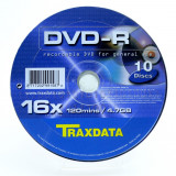 DVD-R TRAXDATA 16X SHRINK 10