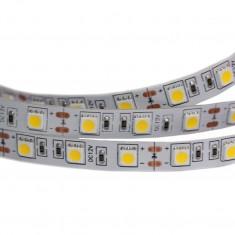 Bara de LED-uri RGB 5050 12 V Albastra (Rola 5 m) - Indicator