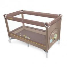 Baby Design Simple 09 beige 2016 - Patut pliabil - Patut pliant bebelusi