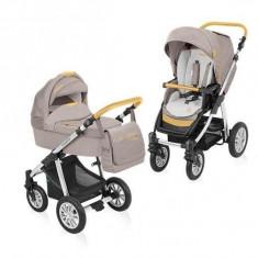 Baby Design Dotty Denim 09 beige 2015 - Carucior 2 in 1 - Carucior copii 2 in 1