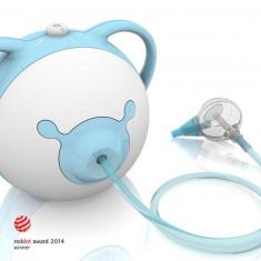 Nosiboo - Aspirator nazal electric blue - Aspirator nazal copii