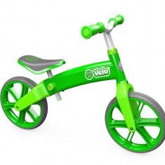 Ybike Yvolution YVelo motoras pentru copii verde - Bicicleta copii