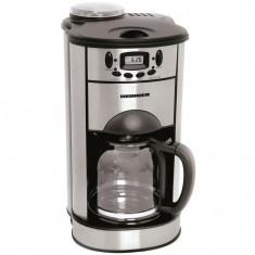 Cafetiera cu rasnita incorporata Heinner Flavor Plus HCM-1500DR, 1000 W, 1 l