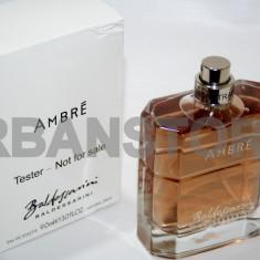 Parfum Tester Hugo Boss Baldessarini Ambre + LIVRARE GRATUITA ! - Parfum barbati Hugo Boss, Apa de toaleta, 90 ml, Lemnos oriental