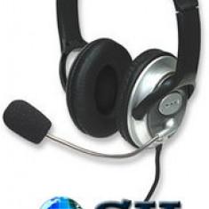 Casca multimedia cu control volum 175555 Manhattan - Casca PC