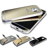 Husa Samsung Galaxy S6 TPU Ultra Thin Mirror Silver