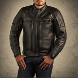 Geaca piele Harley Davidson FXRG moto , motocicleta