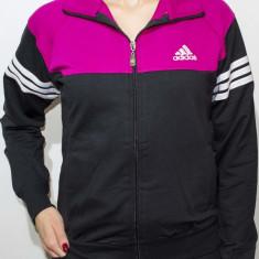 Trening Adidas dama - trening dama trening slim fit trening gri cod 41, Marime: S, Culoare: Bleumarin, Negru