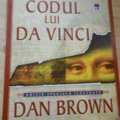 DAN BROWN--CODUL LUI DA VINCI - ED. RAO-LUX ILUSTRATA - Roman