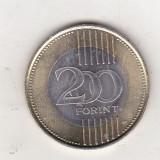 Bnk mnd Ungaria 200 forint 2009 aunc , bimetal, Europa