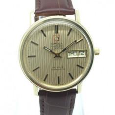 Ceas elvetian original quartz OMEGA De Ville Chronometer F300Hz - Ceas barbatesc