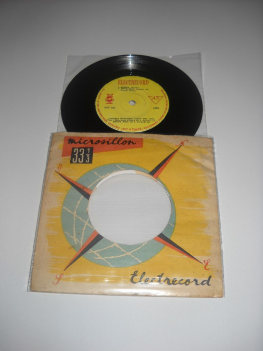 Margareta Pislaru/Roxana Matei(EP vinil/disc mic vechi cu 4 piese, EDC 336)1963
