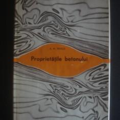 ADAM NEVILLE - PROPRIETATILE BETONULUI