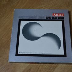 Banda magnetofon AKAI 26, 5cm metal black, NAB- rara-