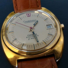 Ceas quartz elvetian Omega Constellation - Ceas barbatesc