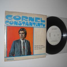 CORNEL CONSTANTINIU (vinil EP cu 3 piese, prima aparitie discogarfica, stare Ex) - Muzica Pop electrecord
