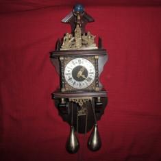 Ceas, pendula mecanic de perete ZAANSE Regatul Olandez