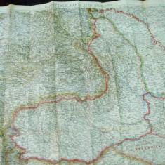 Romania intre 7 mai si 28 noiembrie 1918 dupa pacea de la Bucuresti harta color - Harta Romaniei