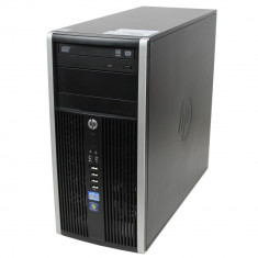Calculator HP 6200 Pro Tower, Intel Core i3 2100 3.1 GHz, 8 GB DDR3, 320 GB HDD SATA, DVDRW - Sisteme desktop fara monitor