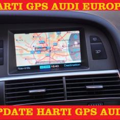 AUDI DVD NAVIGATIE AUDI Navigatie Audi A4 A5 A6 A Q7 Mmi 2G EUROPA ROMANIA 2017 - Navigatie auto, Universal