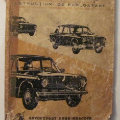 PVM - Automobilele LADA 21011, 21013 / Instructiuni de Exploatare / limba romana