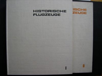 Avioane, aeronave istorice. Vol. I. + II.   Tipologie, descriere. foto