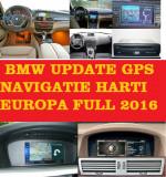 BMW DVD NAVIGATIE HARTI 2017 BMW SERIA 1, 3, 5, 6, X5, X6  Navi ROMANIA 2017