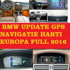 BMW DVD NAVIGATIE HARTI 2017 BMW SERIA 1, 3, 5, 6, X5, X6 Navi ROMANIA 2017 - Navigatie auto