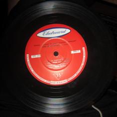 Disc mic vechi pentru studiu si ascultare rar turatie 33 voce ion cristoreanu - Muzica Lautareasca electrecord, VINIL