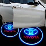 2 Bucati Wireless Logo Pentru Masinile TOYOTA - Atasate La Portiera
