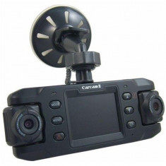 Camera auto dubla iUni Dash cu GPS X8000 - Camera video auto