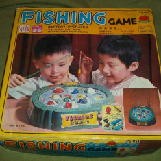 Joc chinezesc Fishing game jucarie - Jucarie de colectie