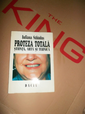 Iuliana Sabadus, Proteza Totala, Stiinta arta si tehnica /1995 foto
