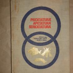 Piscicultura apicultura sericicultura an 1968/274pag- Barca, Rosenthal, Rosca - Carti Zootehnie